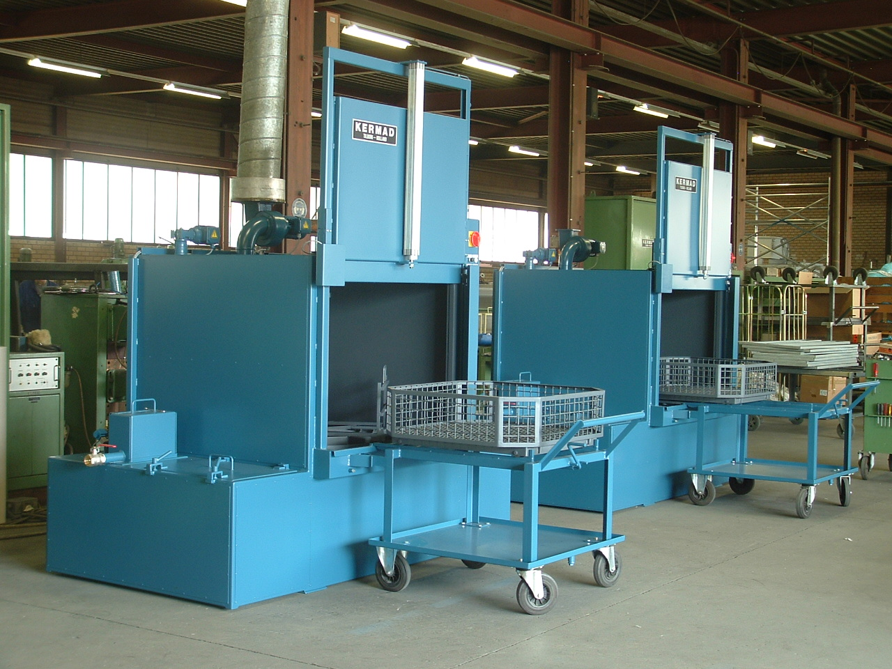 Kermad Industrial Cleaning Machine