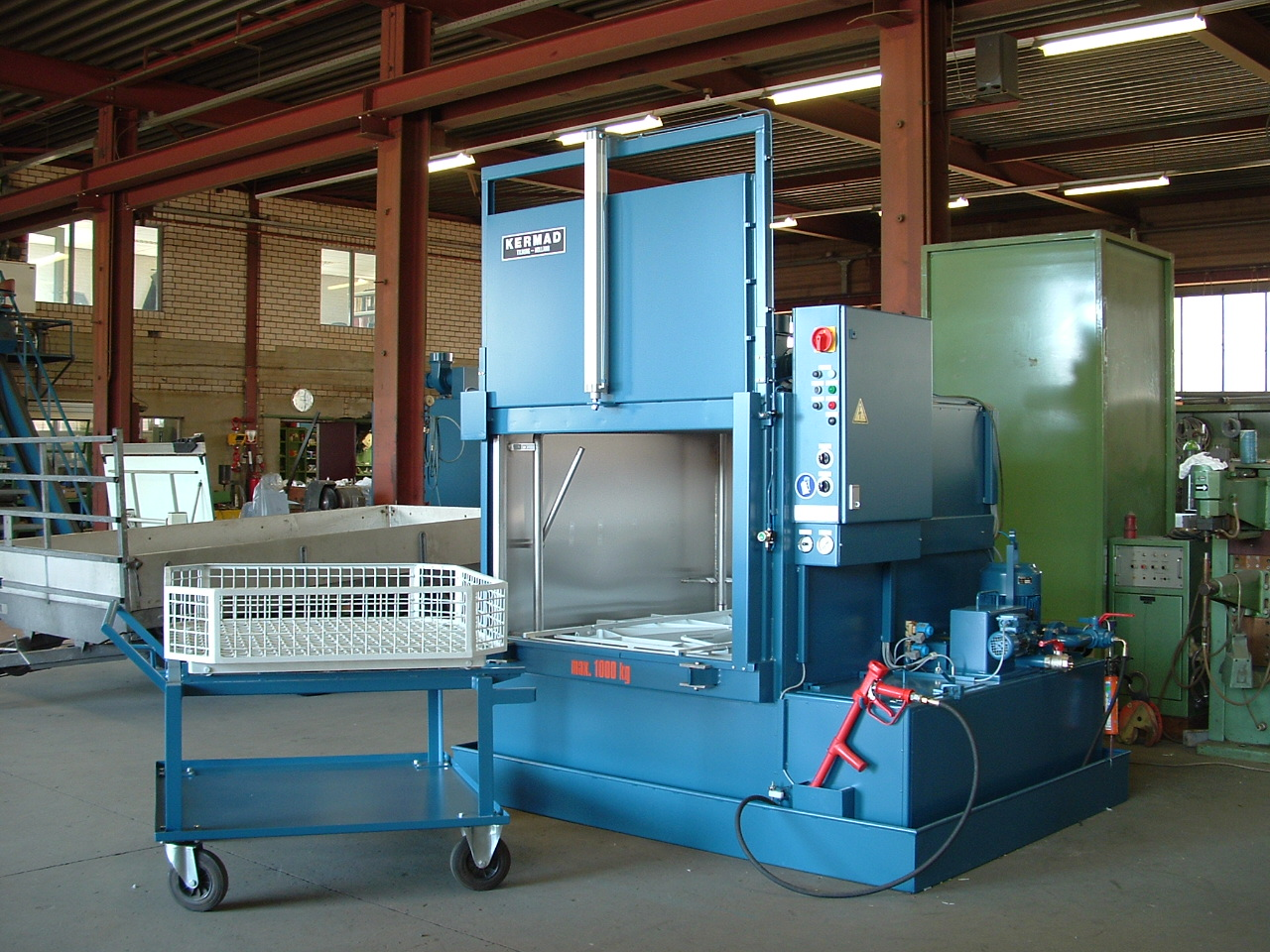 Kermad industrail cleaning machine
