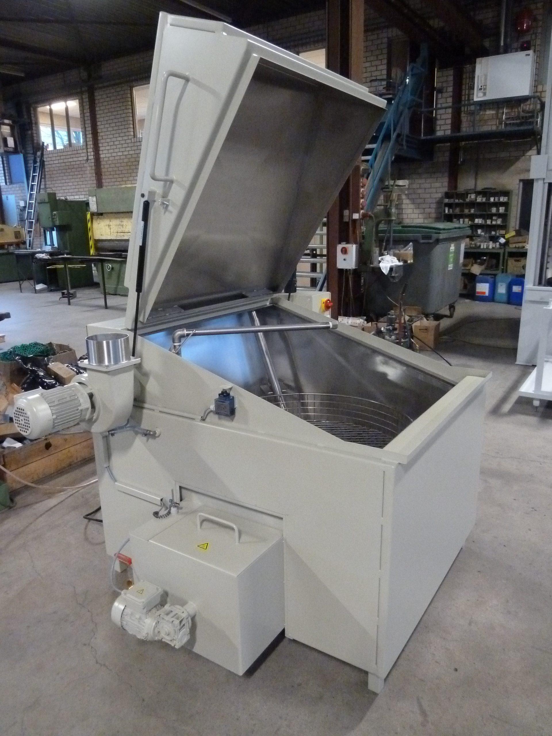 Kermad reinigingsmachine bovenlader K22