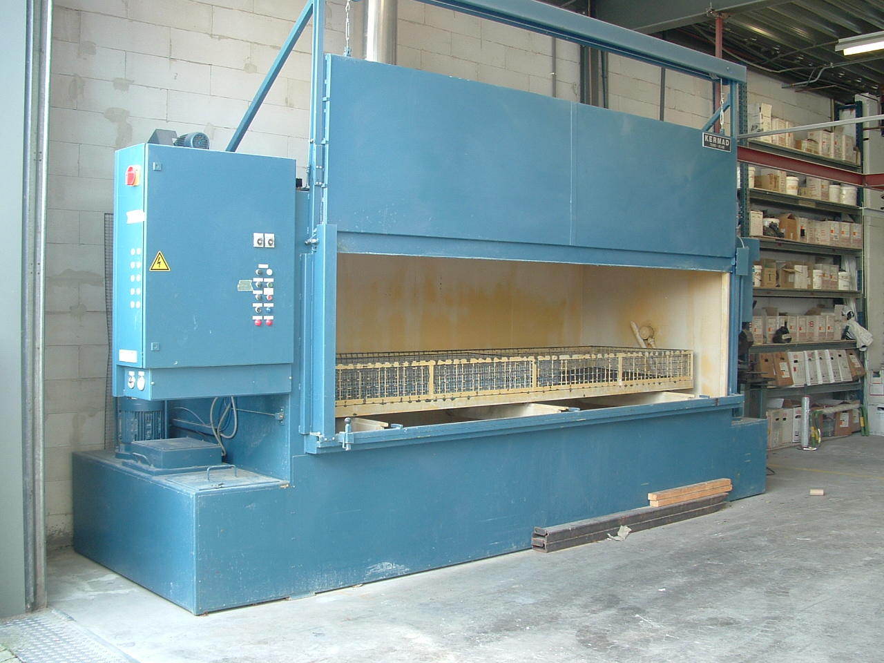 Industial cleaning-machine