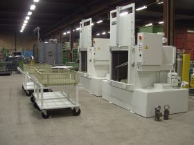 Kermad industriele reinigingsmachines voorlader